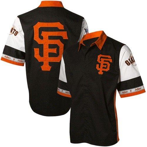 San Francisco Giants Black Pit Crew Shirt