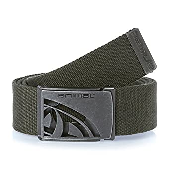 Animal Men's Liang Belt, Green (Olive), One Size