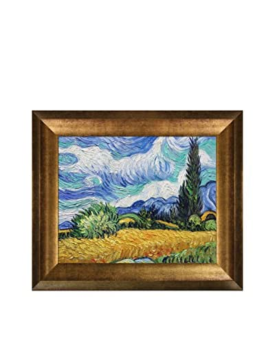 Vincent Van Gogh Wheat Field with Cypresses Reproduction Oil Painting