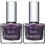 Revlon Dark Pleasures Limited Edition Nail Polish / Lacquer, #795 Purple Pleasure (Qty, of 2 Bottles) RARE/DISCONTINUED