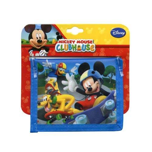 Disney Mickey Mouse Bifold Non-woven Wallet - 1