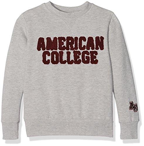 American College JBOOKLET2, Felpa Bambino, Grigio (Light Grey), 6 Anni