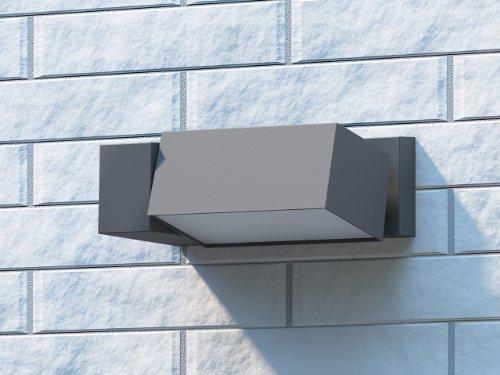 Philips border lampada da parete per esterno faro - Philips lampade esterno ...