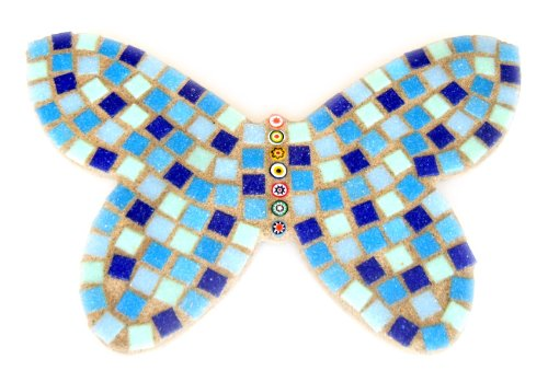 Blue Butterfly Mosaic Craft Kit