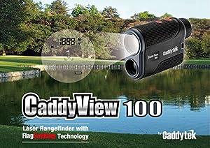 CaddyTek Golf Laser Rangefinder with FlagSeeking Technology