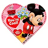 Disney Mickey Mouse & Friends Valentines Heart Shaped Box Of Chocolates 2 OZ (57g)