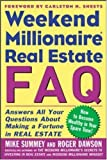 img - for Weekend Millionaire's Frequently Asked Real Estate Questions book / textbook / text book
