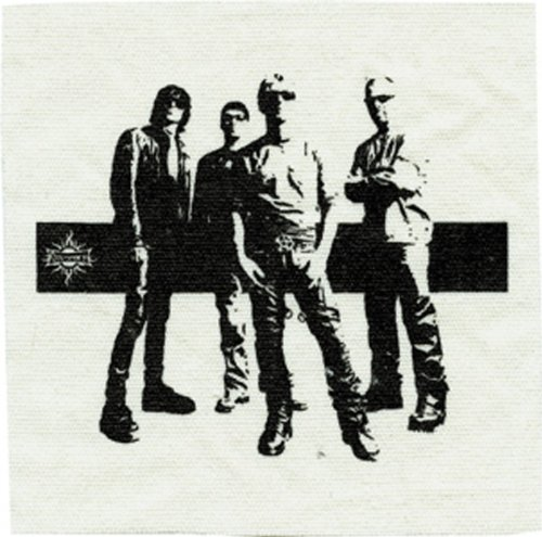 Application Godsmack Distressed Canvas Patch - 1