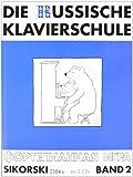 Die Russische Klavierschule, Band 2, (inkl. 2 CDs)