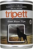 Tripett Green Bison Tripe Dog Food, 13 oz cans, Pack of 12