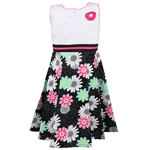 Sweety Jilax 11-13 Year Girls Frock Black & Pink Colour Size 36