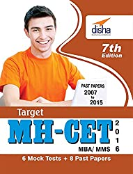Target MH-CET (MBA/MMS) - Past (2007 - 2015) + 6 Mock Tests