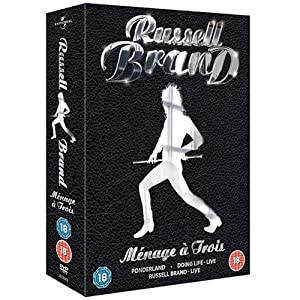 The Russell Brand Collection: Menage a Trois (Ponderland / Russell Brand: Doing Life: Live / Russell Brand: Live) [Region 2]