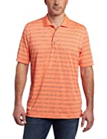 IZOD Men's Short Sleeve Jersey Stripe Golf Polo