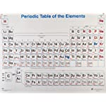 "American Educational 4 Color Periodic Table Wall Chart, 49-1/2"" Length x 38"" Width"