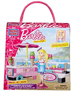 Mega Bloks Barbie Ice Cream Cart