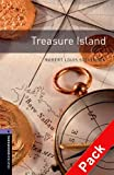 Bassett Jennifer Oxford Bookworms Library: Stage 4: Treasure Island Audio CD Pack: 1400 Headwords (Oxford Bookworms ELT)