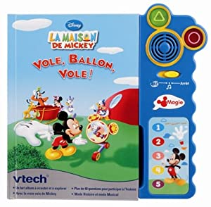 Vtech - 80-062705 - Jeu éducatif électronique - Magi Livre interactif Maison de Mickey - Format compact