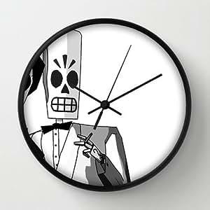 Art Design Game Wall Decor Clock Custom Grim