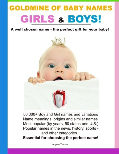 Goldmine of Baby Names Girls and Boys! PDF