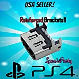 100% NEW Reinforced Bracket Sony PS4 HDMI Port Socket Part Connector USA SHIP