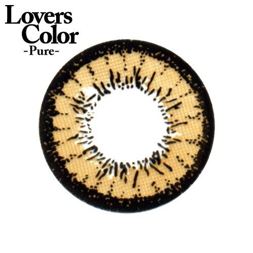 小森純×度ありカラコン Lovers ColorPureー エッジブラウン PWR0.50 DIA 14.5