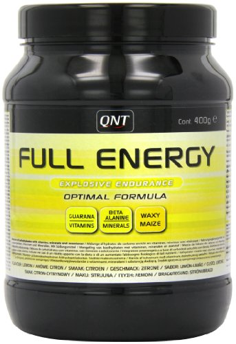 QNT Full Energy 400 g Lemon Energy, Performance and Endurance Drink Powder