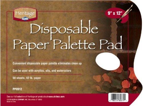 Paper Palette Pad Size: 9