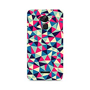 Ebby Colorful Triangles Premium Printed Case For Coolpad Note 3