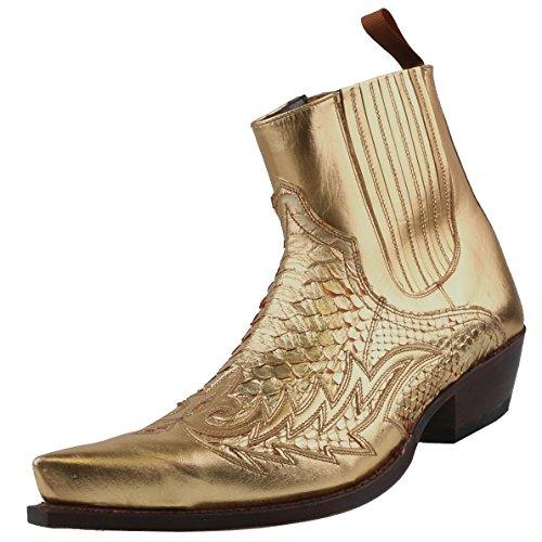 Sendra Boots, Stivali uomo Oro oro, Oro (oro), 41
