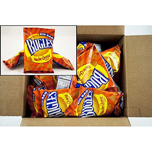 Bugles Nacho Cheese, 1.5 Ounce -- 36 per case. (Nacho Cheese Bugles compare prices)