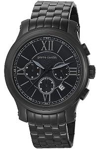 Pierre Cardin Men's Quartz Watch Empereur D'Animation Chrono PC105151F05 with Metal Strap