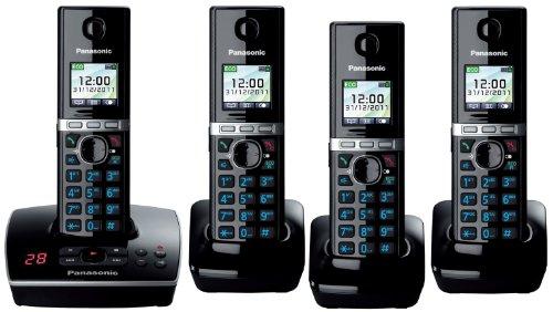 Panasonic KX-TG 8061 Cordless Phone 4 handset pack 8064 Black Friday & Cyber Monday 2014