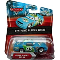 Disney Pixar Cars Exclusive SPARE-O-MINT with SYNTHETIC RUBBER TIRES
