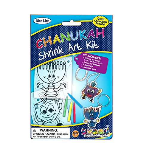 Rite Lite LTD Chanukah Shrink Art
