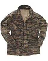 US Tiger Stripe Vietnam War Jacket - Ripstop American BDU Combat Fatigues