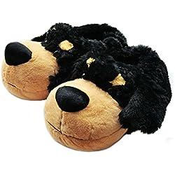 07e2bbd05057 Fuzzy Animal Slippers for Men