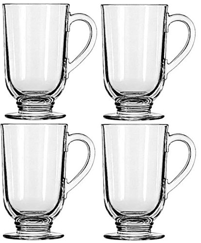 Libbey 10.5-ounce Irish Coffee Mug, 4-piece Set (Irish Coffee Set compare prices)