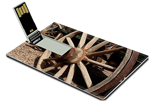 liili-8gb-usb-flash-drive-20-memory-stick-credit-card-size-antique-wooden-stagecoach-wheel-photo-239