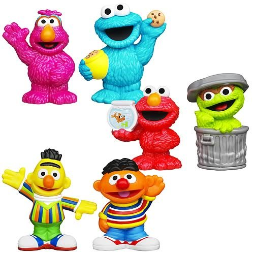 Sesame Street Toys : Sesame street figure packs wave set