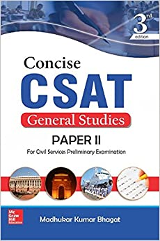 Concise CSAT For GS Paper II 3 Edition price comparison at Flipkart, Amazon, Crossword, Uread, Bookadda, Landmark, Homeshop18