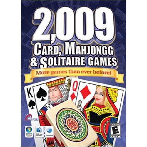 2,009 Card, Mahjongg & Solitaire Games - Macintosh