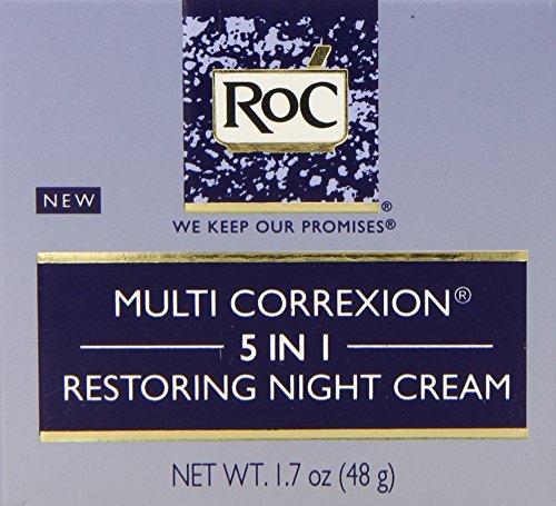 Roc Multi Correxion 5-in-1 Restoring Night Cream, 1.7 Fluid Ounce (Roc Wrinkle Cream compare prices)
