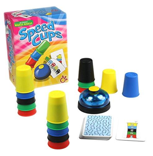 Amigo - Speed Cups, juego de mesa, juego de mesa en español (Mercurio Distribuciones A0028)