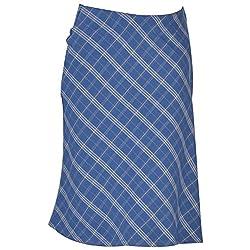 Colhers - Bias Cut Checked Skirt - M