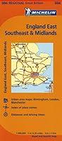Michelin Map England East, Southeast, & Midlands