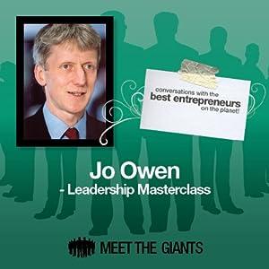 Jo Owen - Leadership Masterclass Rede