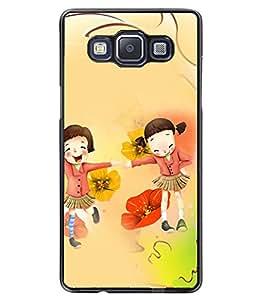 PrintVisa Metal Printed Crazy Designer Back Case Cover for Samsung Galaxy A5/ A5 Duos-D4710