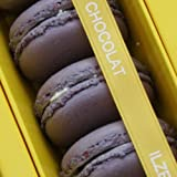 Ilze's Chocolat box of 8 Lavender Macaroons with Real Lavender and White Chocolate Buttercream