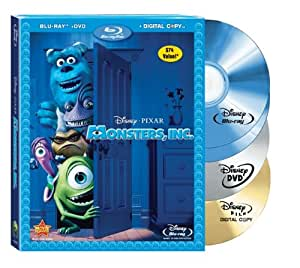 Monsters Inc. (Four-Disc Blu-ray/DVD Combo + Digital Copy) (Bilingual)